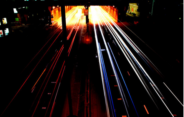 road tunnel by aubergene via Flickr