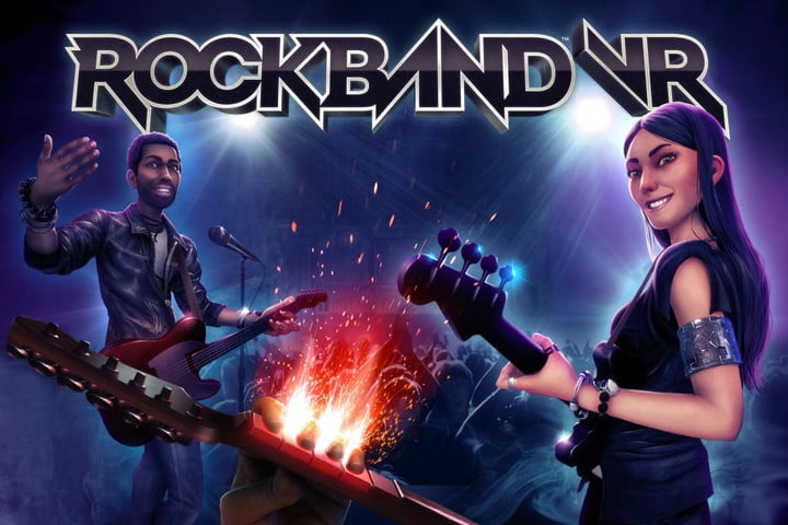 rock band vr is compatible with legacy instrument controllers rockbandvr