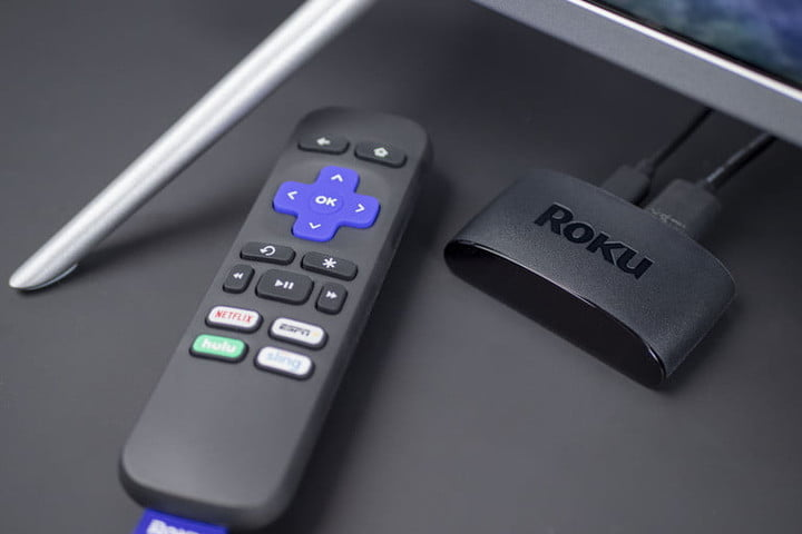 Roku Express 2019 with remote.