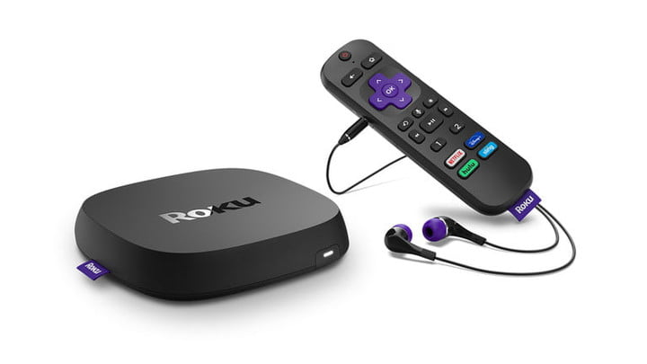 The Roku Ultra (2020) with remote.