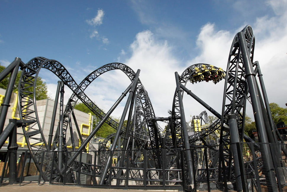biggest rollercoasters in the world roller 5