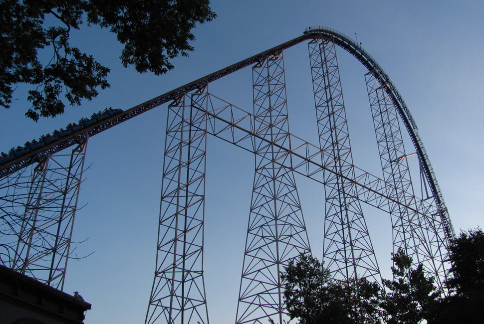 biggest rollercoasters in the world roller 6