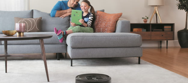 how robot vacuums learn navigate through your home roomba i7 lifestyle living room