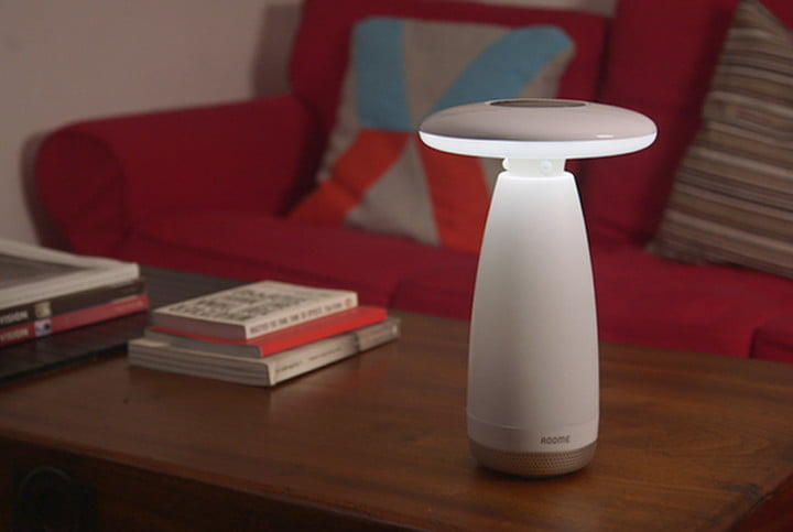 roome gesture smart lamp gestured controlled light