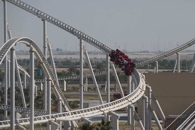 biggest rollercoasters in the world rossa4