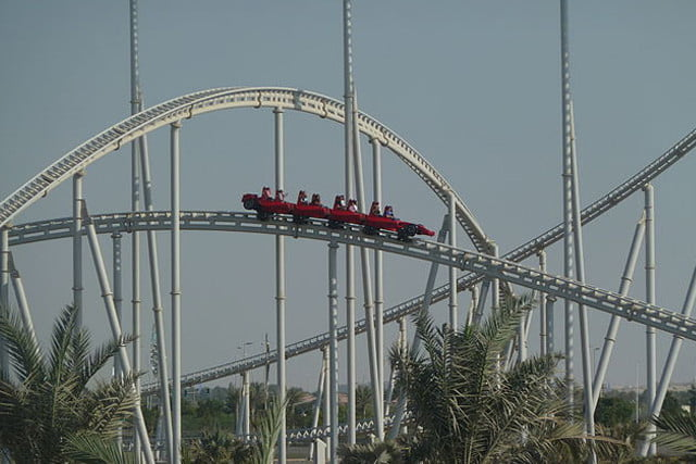 biggest rollercoasters in the world rossa5