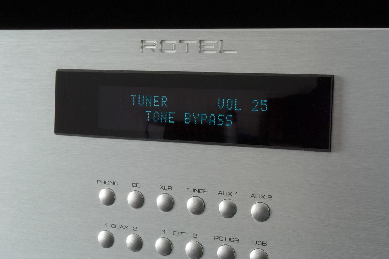 rotel ra 1570 review receiver datapanel
