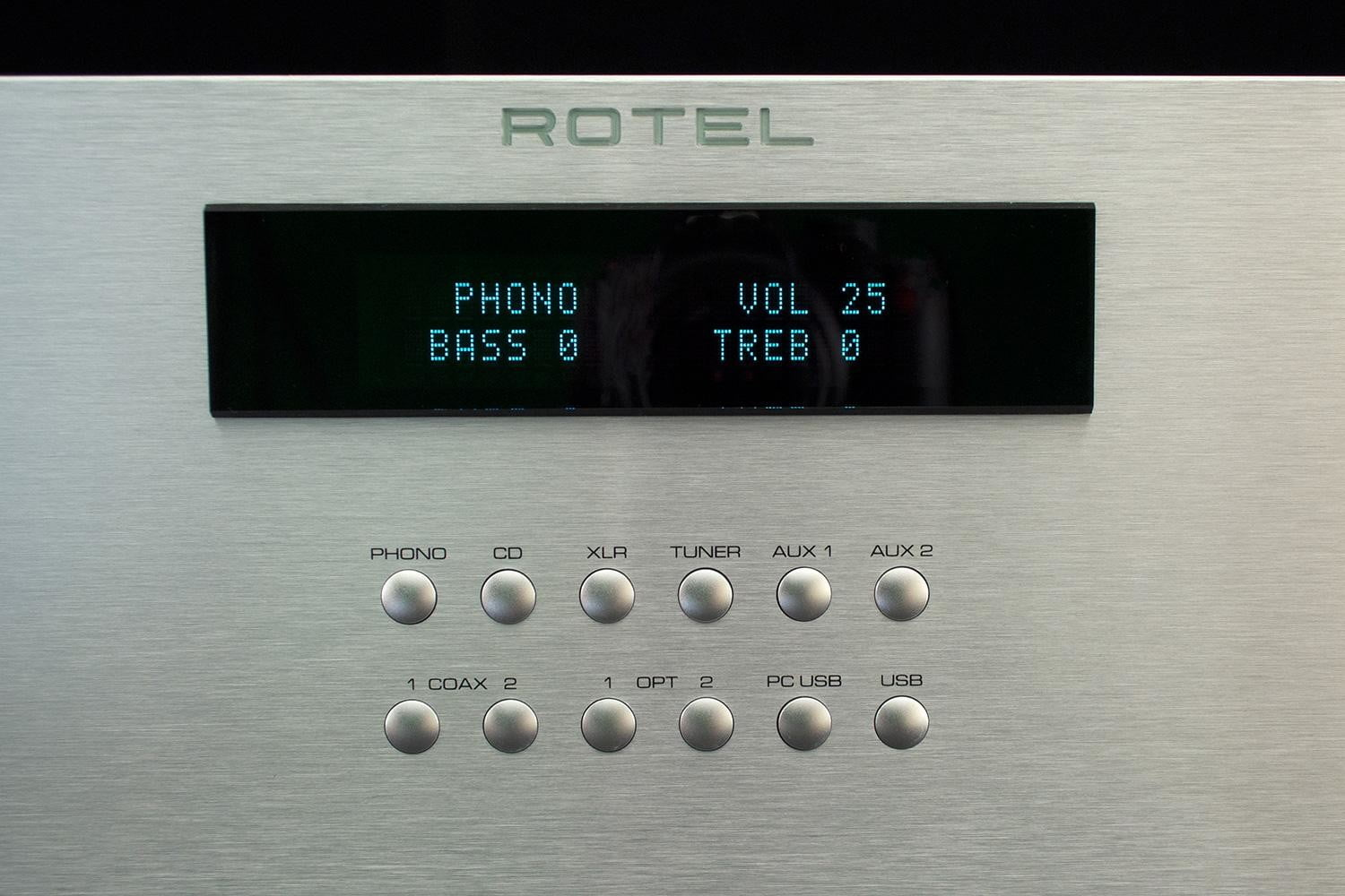 rotel ra 1570 review receiver display1