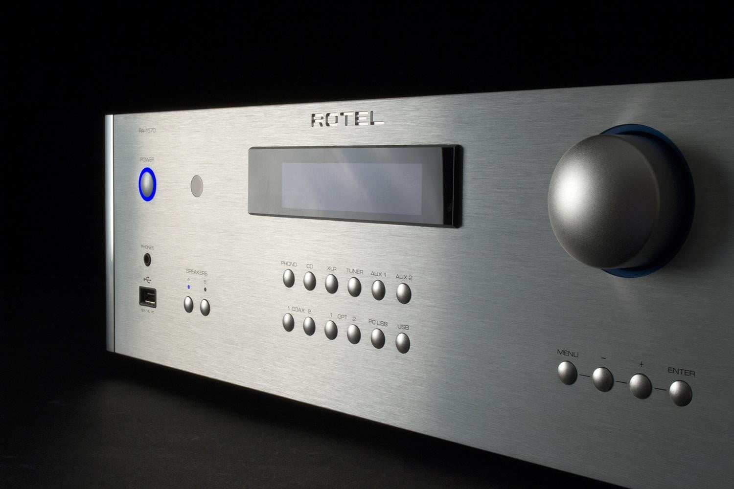 rotel ra 1570 review receiver frontmem