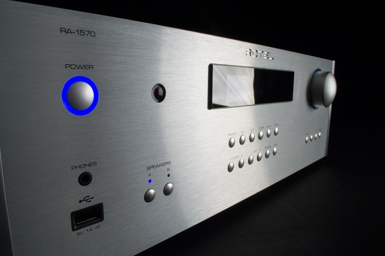 rotel ra 1570 review receiver fronttwist
