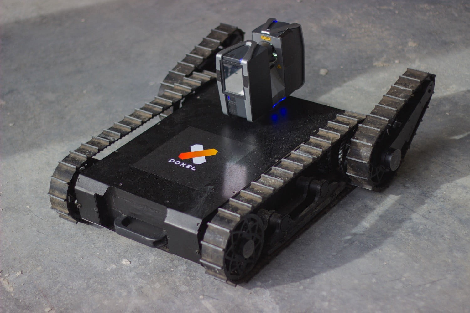 doxel construction monitoring robots rover 01