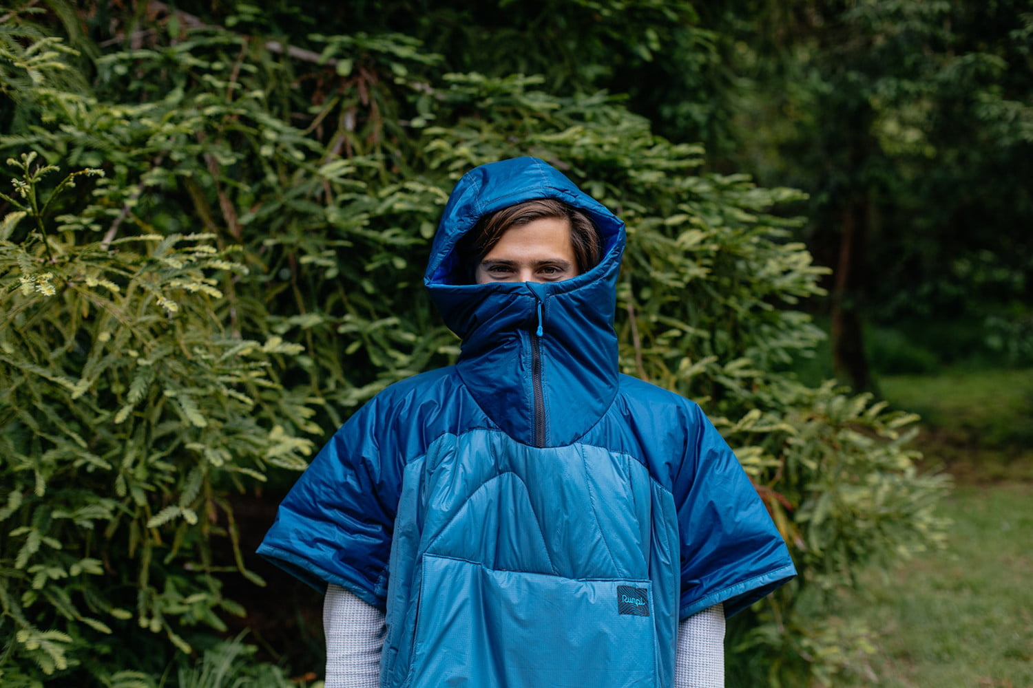 New crowdfunding projects - Rumpl Puffy Poncho -- outdoor poncho/blanket combo