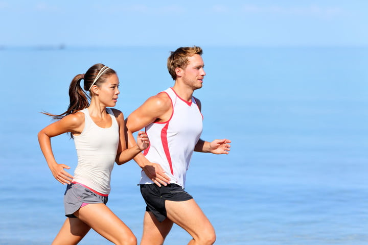 running exercise workout