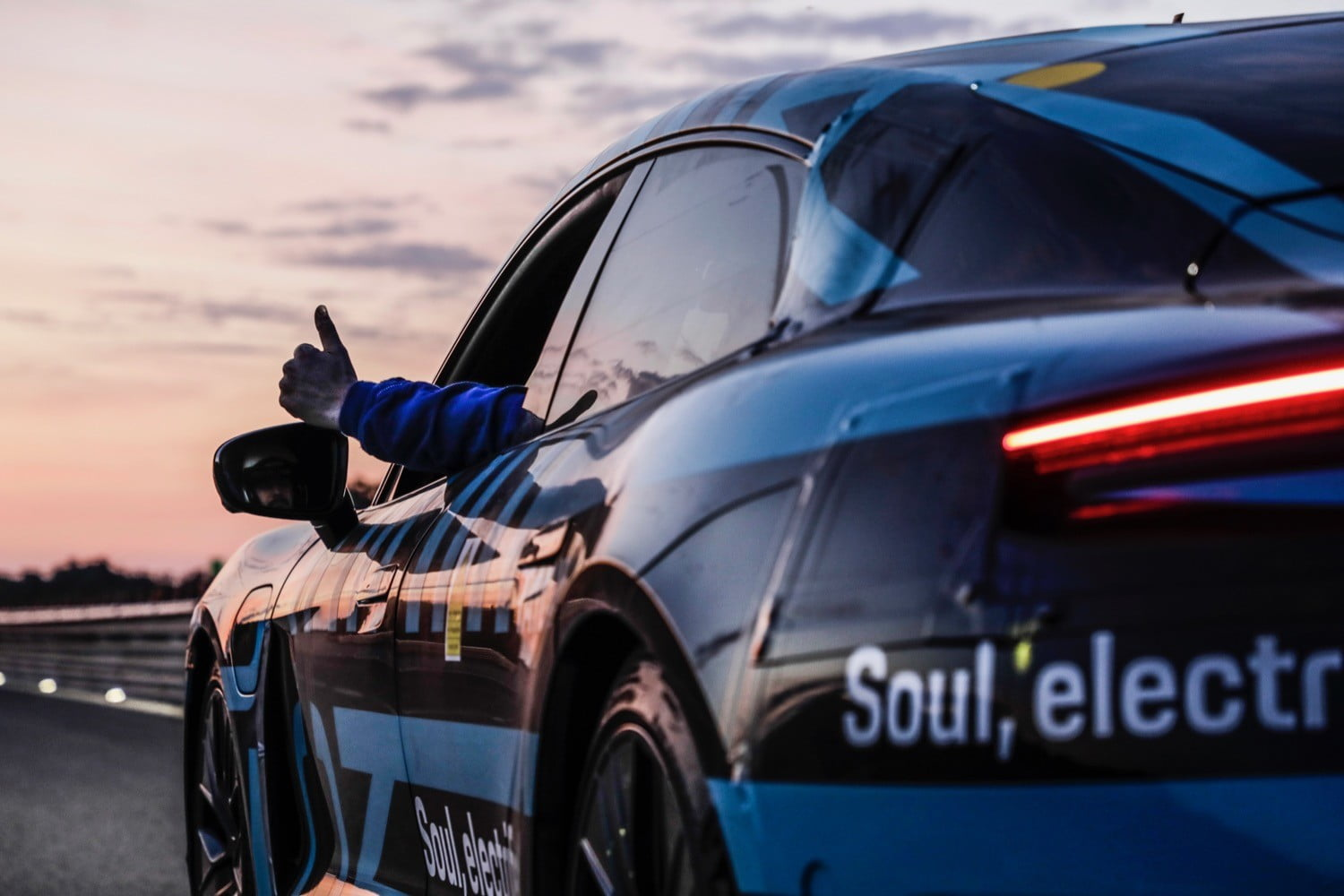 porsche taycan electric car prototype driven 2128 miles in 24 hours hour endurance test