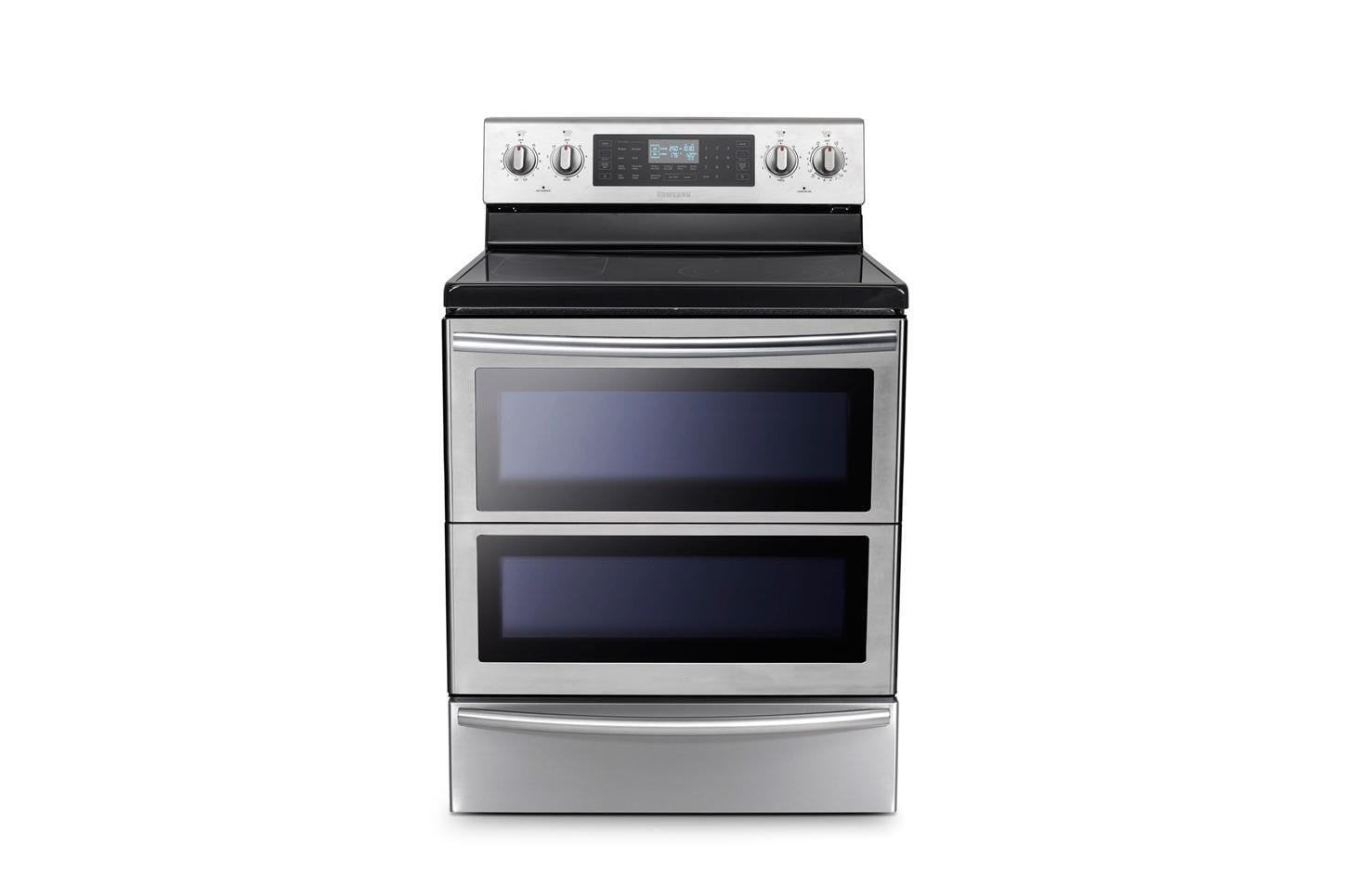samsungs home appliances at ces 2015 samsung 30  freestanding flex duo oven range with double door image 1