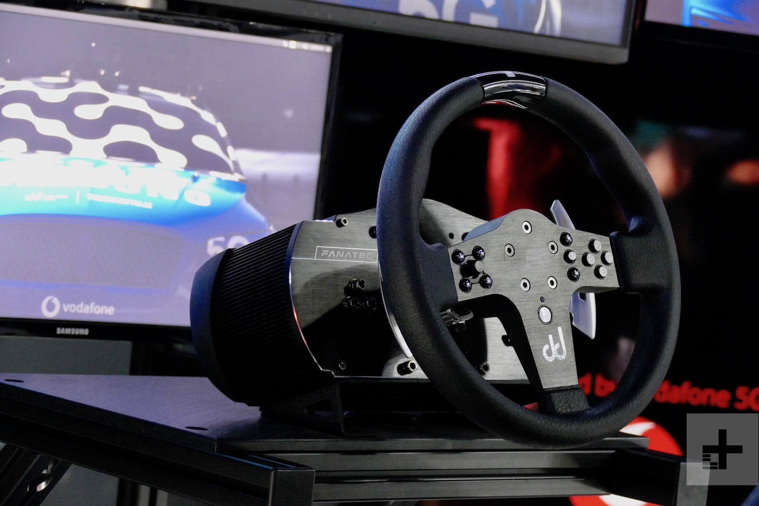 samsung 5g goodwood festival of speed drift news steering wheel