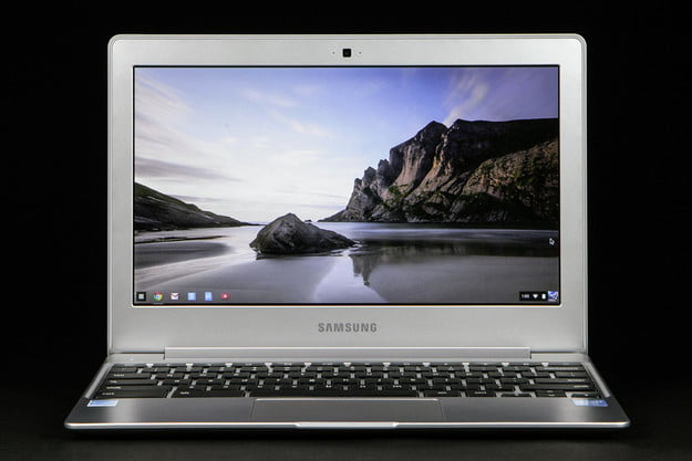 Samsung Chromebook 2 XE500C12-K01US review front screen v3