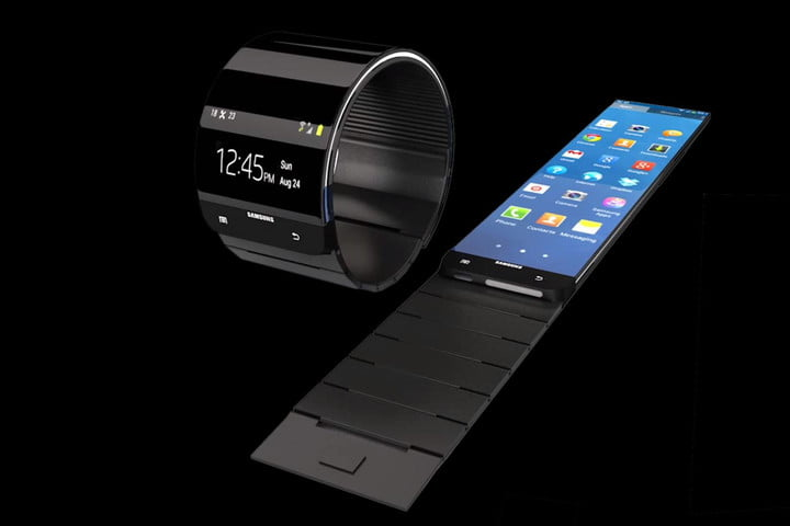 Samsung Galaxy Gear rumor roundup flat and in tact