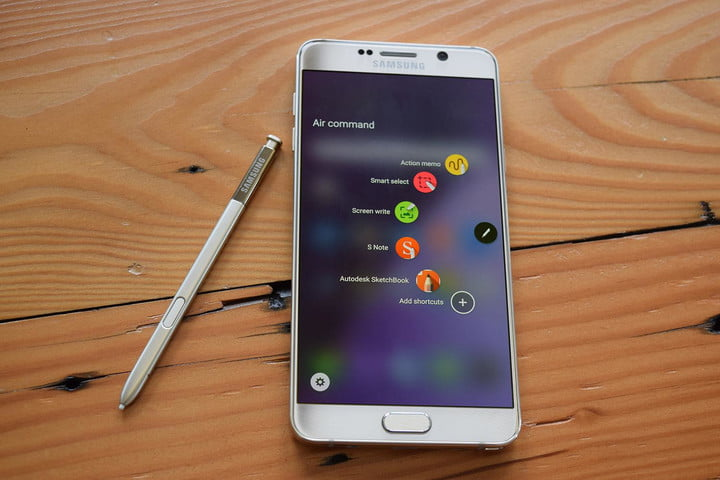 Samsung Galaxy Note 5 review stylus