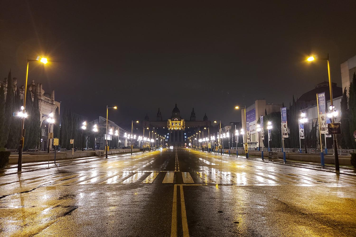 samsung galaxy s9 plus review camera samples wet road