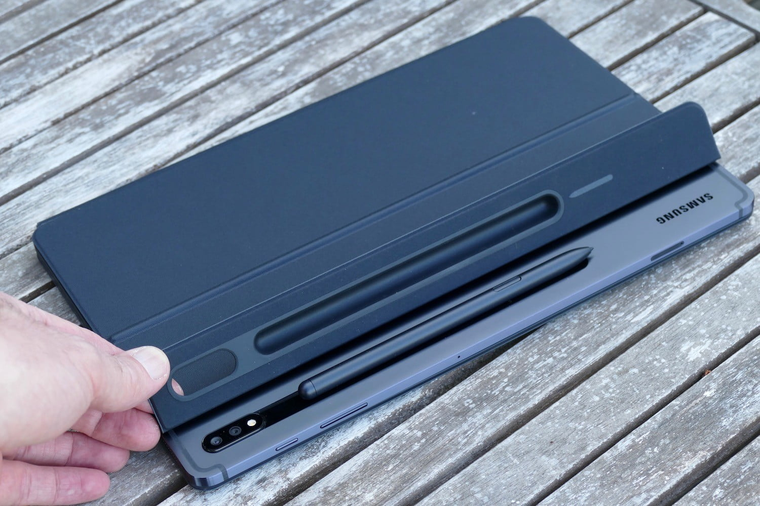 samsung galaxy tab s7 plus review s pen holder