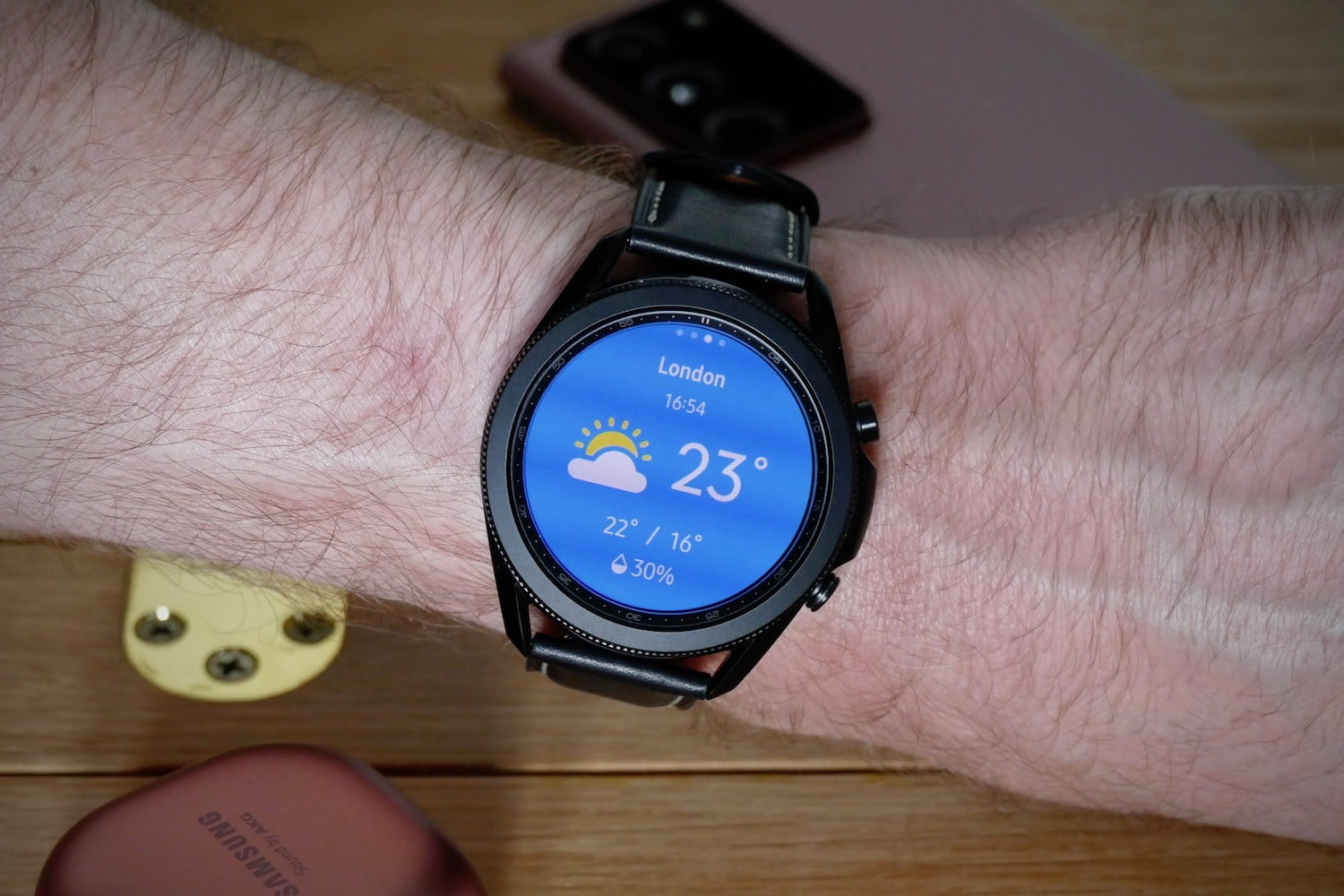 samsung galaxy watch 3 review weather