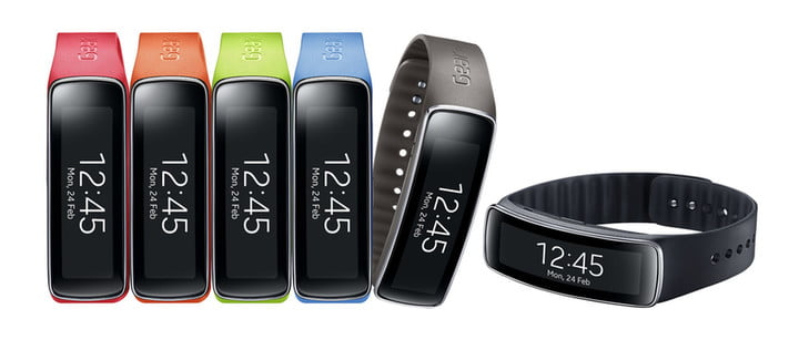 samsung entry level fitness tracker gear fit feature