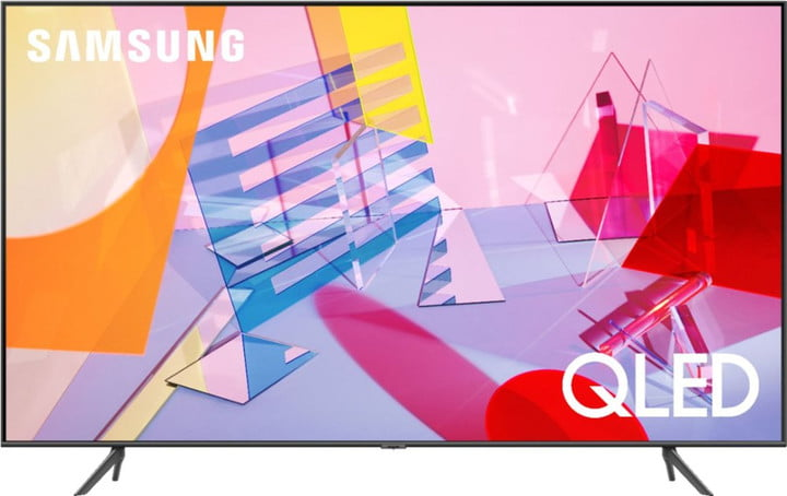 The 65-inch Samsung Q60A Series offers unmatched visuals.