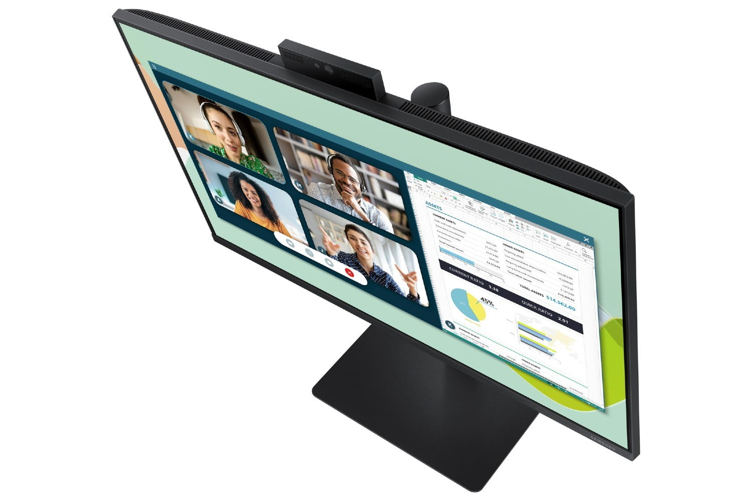 Samsung Webcam Monitor Is All About Videoconferencing | Digital Trends