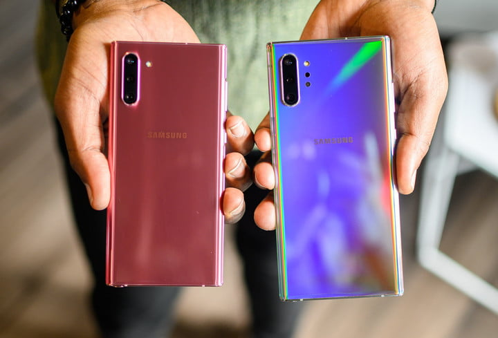 Samsung Galaxy Note 10 and Note 10 Plus