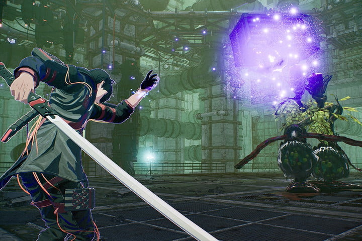 Yuito using his psychokinesis to attack an Other.