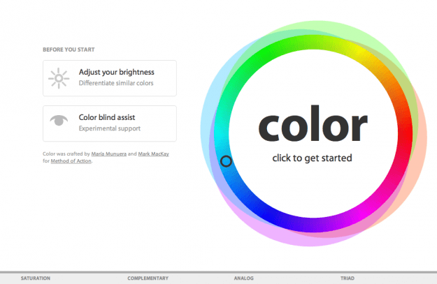 Color Game Method of Action