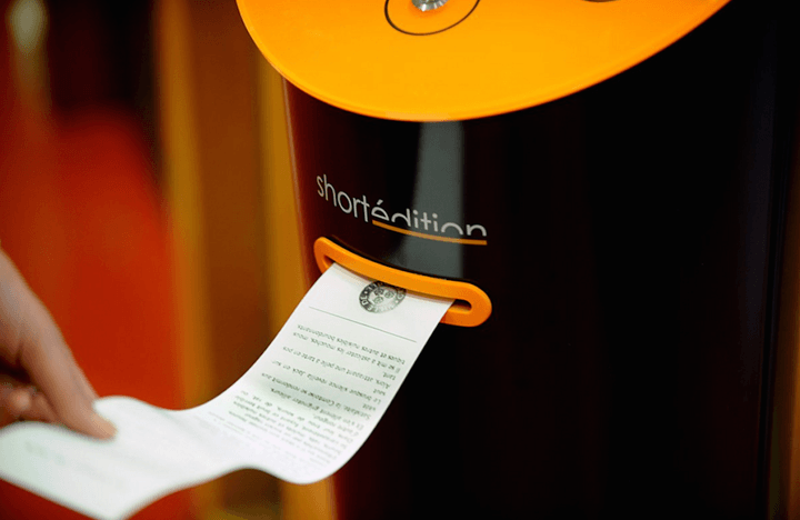 this vending machine in france dispenses short stories instead of snacks screen shot 2015 10 26 at 49 02 am