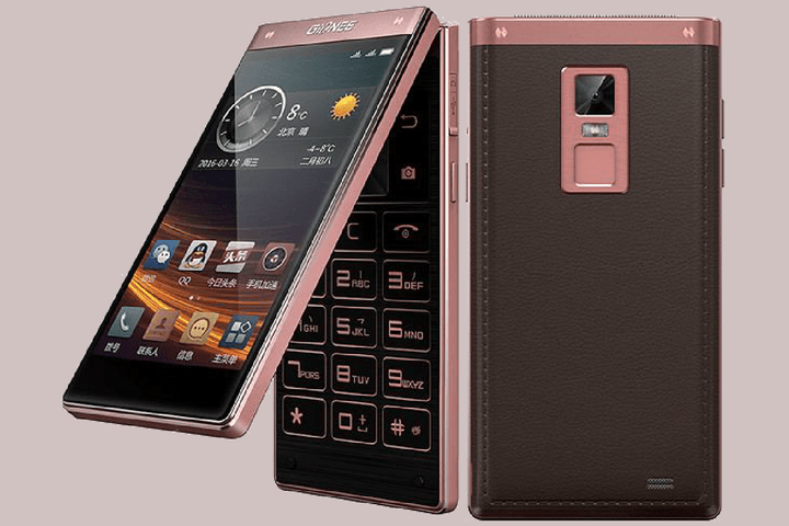 gionee android flip phone w909