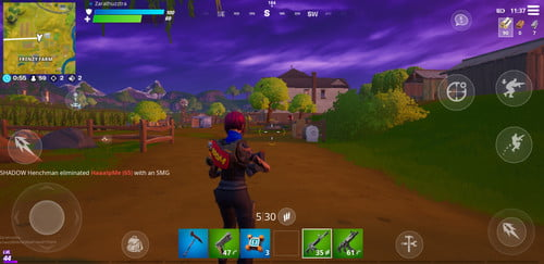 Playing Fortnite Mobile 9 Tips To Help You Win Fortnite Battles On A Smartphone Digital Trends