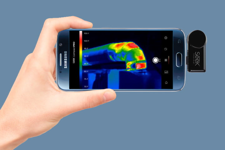 seek thermal compactpro turns any smartphone into camera