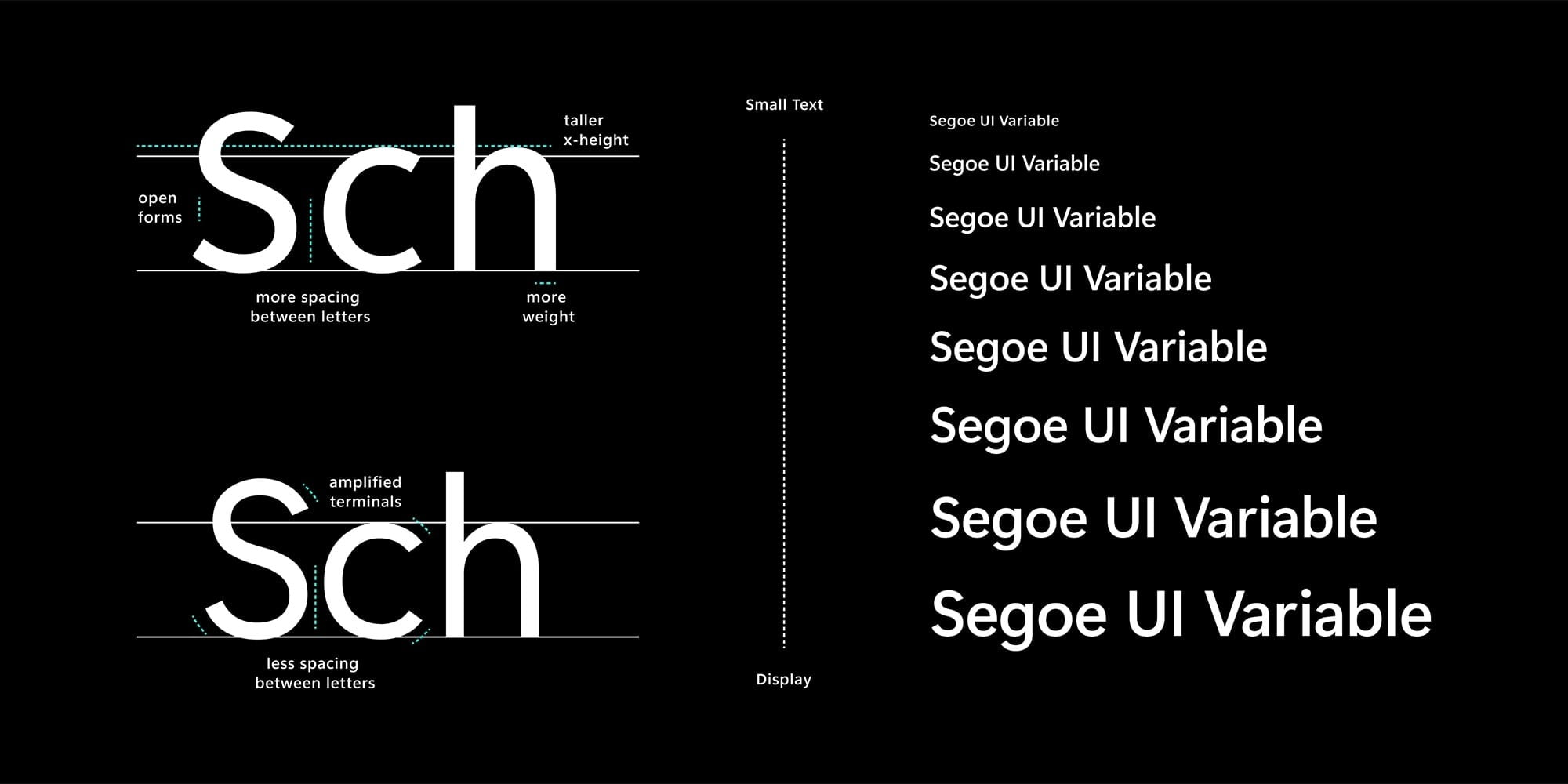 windows 10 new font icons redesign segoe variable