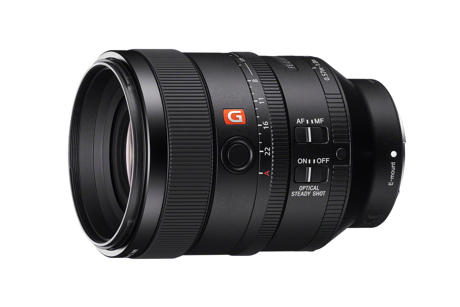 sony launches 100mm 85mm flash sel100f28gm