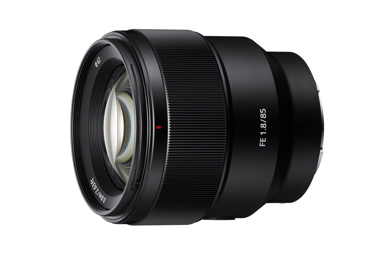 sony launches 100mm 85mm flash sel85f18