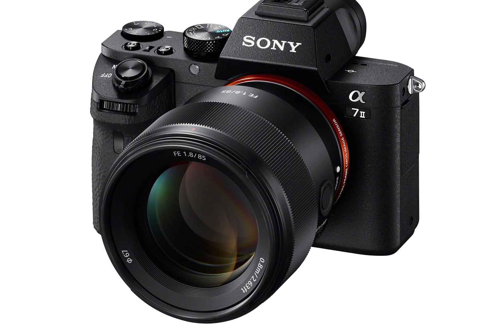 sony launches 100mm 85mm flash sel85f18 a7ii