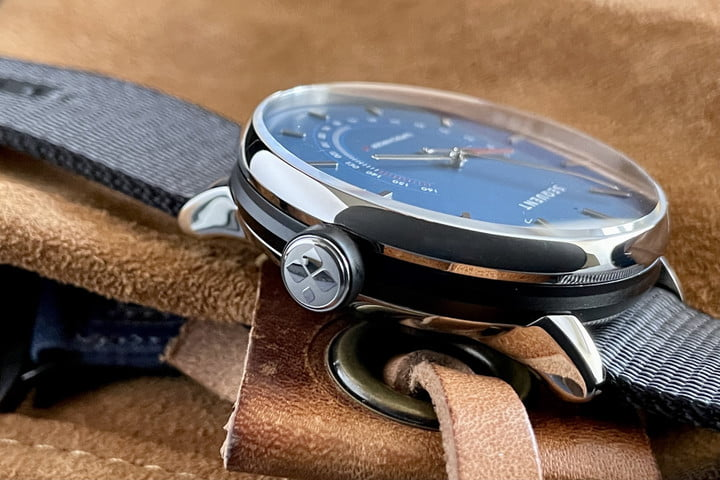 Sequent SuperCharger watch crown.