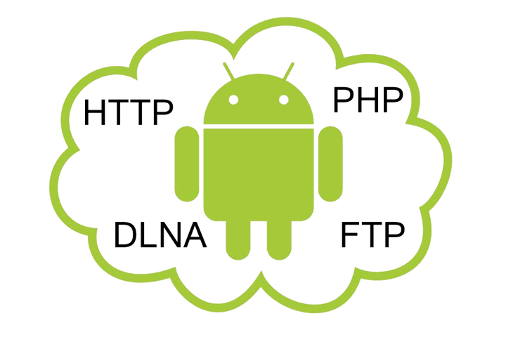 how to make an android server