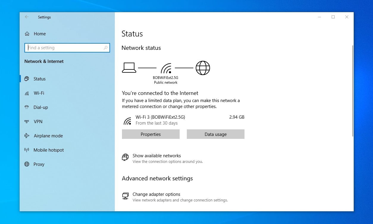 windows 10 may 2020 update review setings 20h1 4