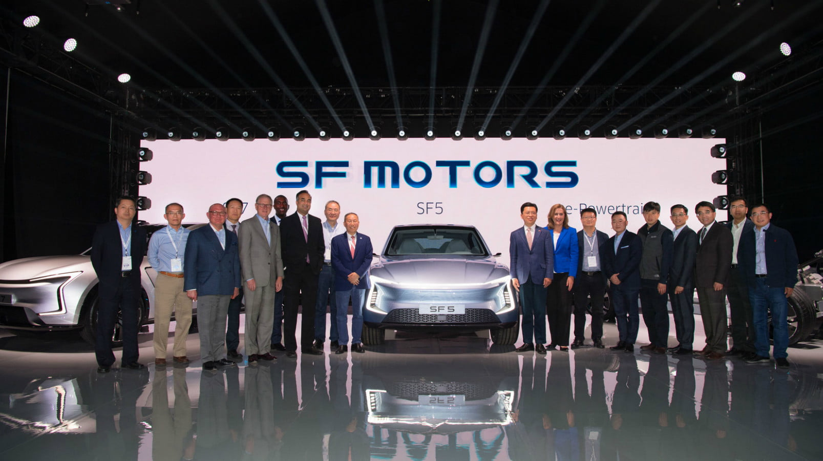 SF Motors Launch with SF5