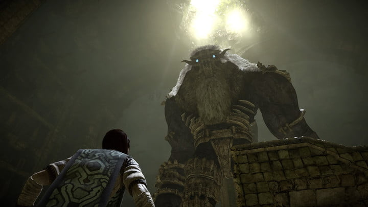 'Shadow of the Colossus' Remake review old colossus