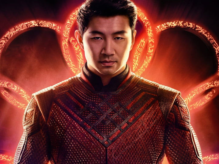 Simu Liu in Marvel's Shang-Chi and the Legend of the Ten Rings.