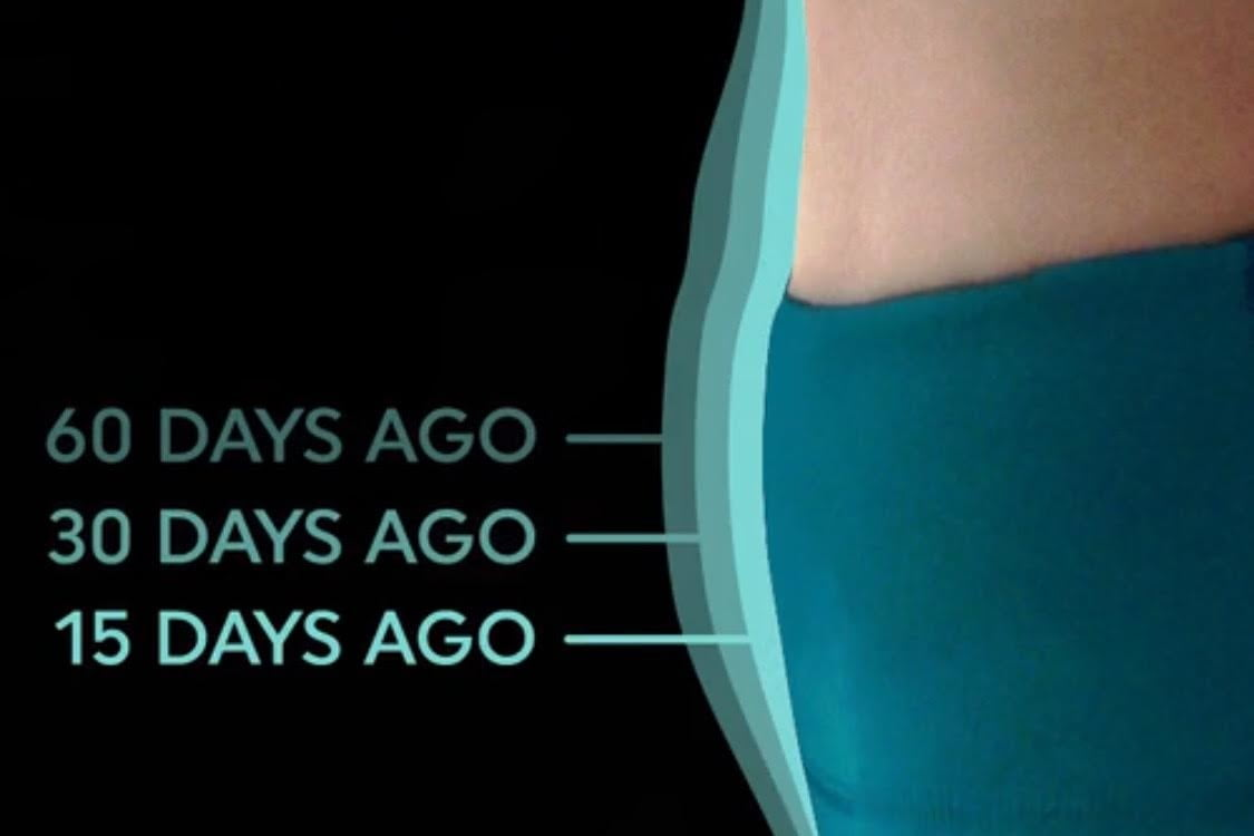 shapescale tells you where youre losing weight time lapse