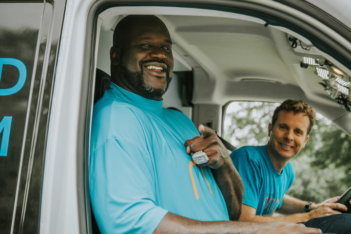 ring doorbell partners with shaquille oneal shaq 01498