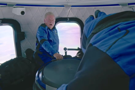 Blue Origin releases first footage showing Shatner in space