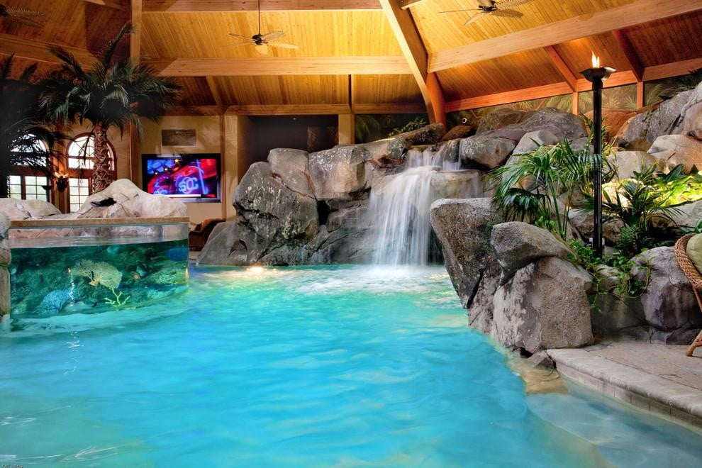 homes with their own shark tanks shehan pools 5